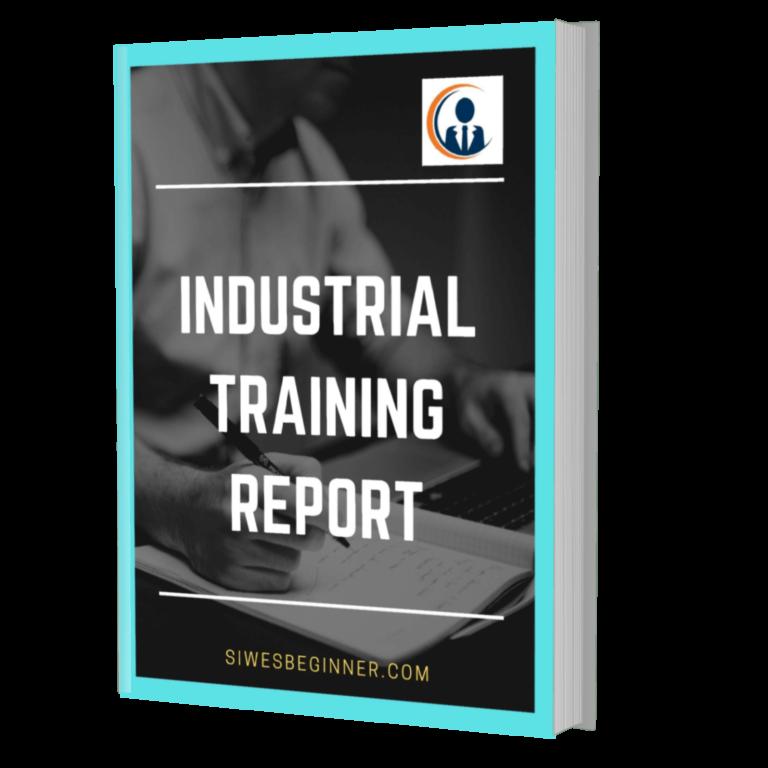 INDUSTRIAL TRAINING REPORT SAMPLE