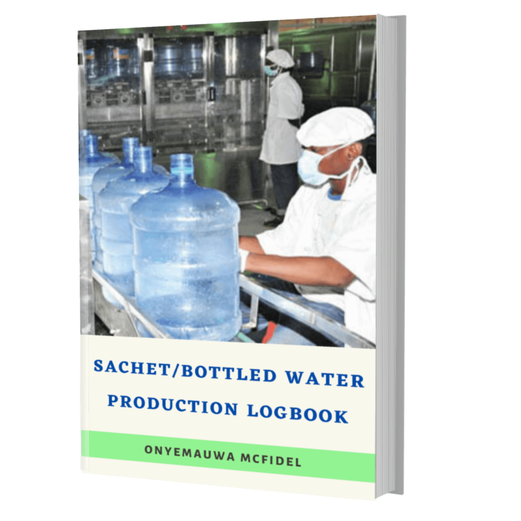Water Production Logbook