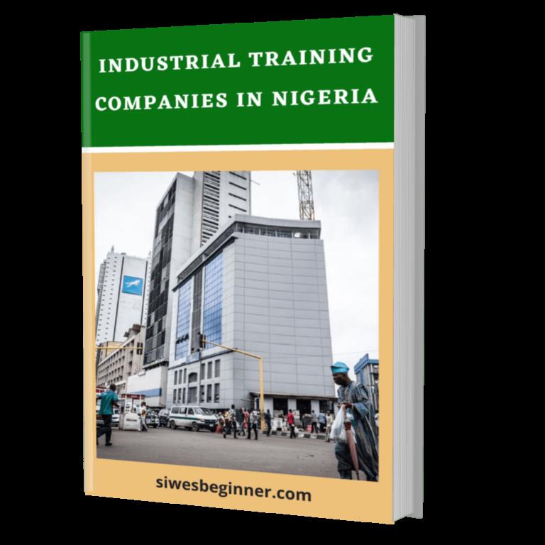 Industrial Training Companies In Nigeria 2020