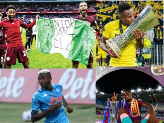 Becoming A Nigerian Footballer